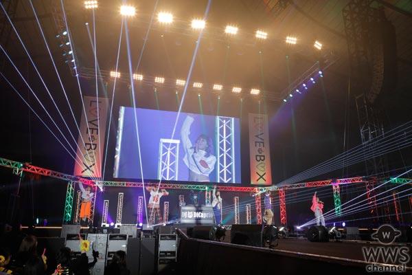 スダンナユズユリーがLOVE BOX 2017に登場!迫力のパフォーマンスでステージを飾る!
