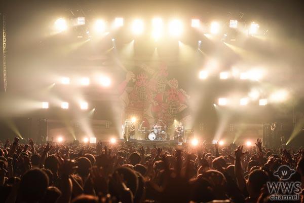 【ライブレポート】10-FEET・TAKUMA「行こうぜ、アポストロフィの向こうへ」ラストはタオルの花が会場いっぱいに乱れ咲き