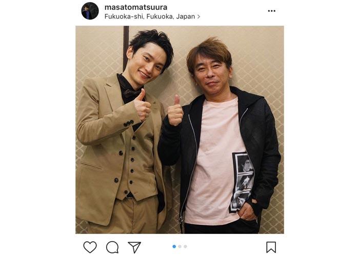 エイベックス松浦社長が武道館公演を行うSKY-HIを絶賛!「2人ともかっこ良すぎる!」