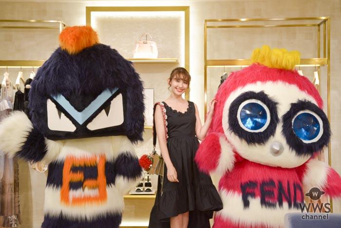 FENDI期間限定ポップアップストアが表参道に!小嶋陽菜、松井愛莉、三吉彩花らがオープニングイベントに登場!