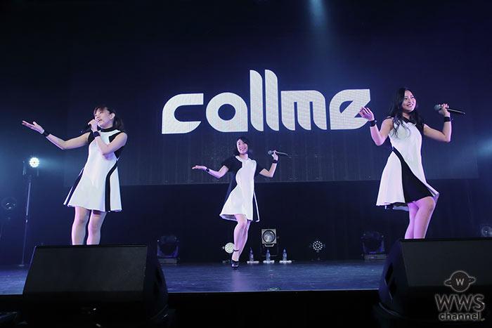 【写真特集】3人組ガールズユニット・callmeが「IDOL NATION 2017 Spring supported by TMC」に出演!