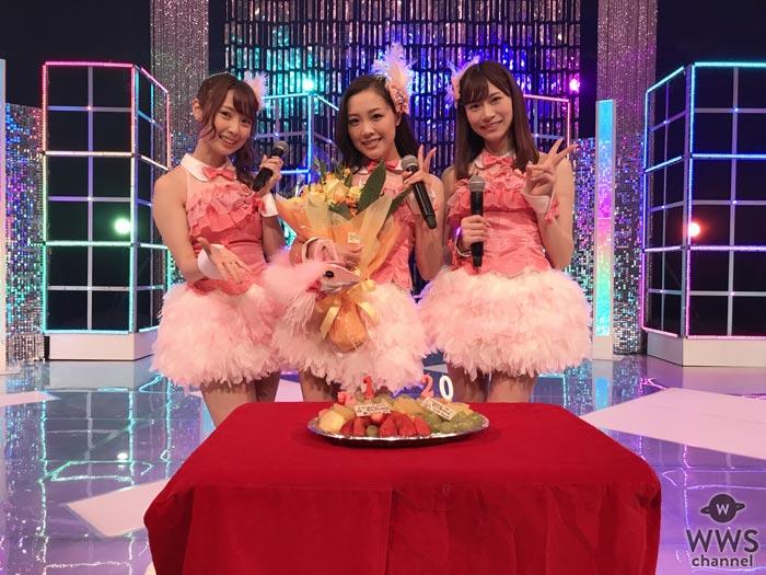 SKE48 石田安奈が後藤理沙子、高柳明音と共にSKE48として最後のテレビ出演でダブル・サプライズ!