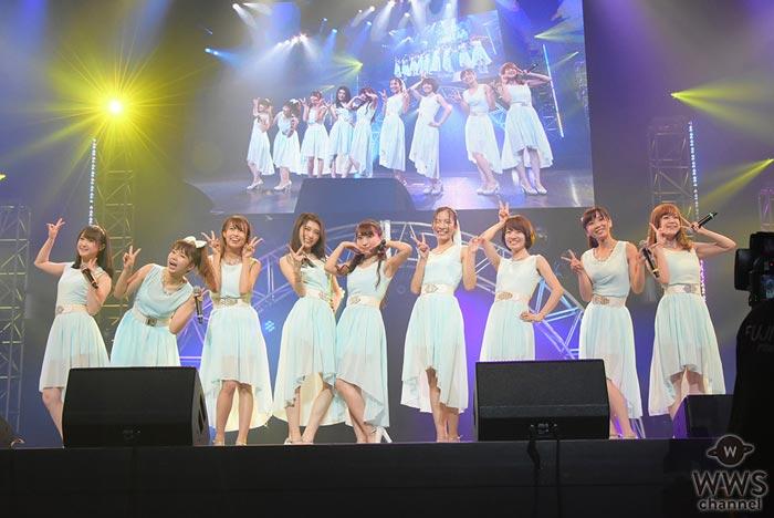九州発のアイドルグループ・LinQが再開発ライブを開催!「これからもこのLinQでみんなの笑顔を見たいと思っています」