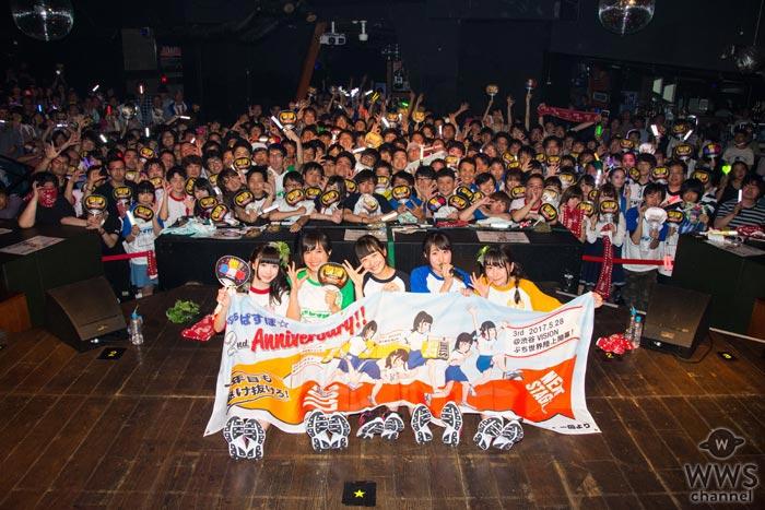 ぷちぱすぽ☆が2周年記念ワンマンで今秋CDリリース&代官山UNITでのワンマン開催を発表!