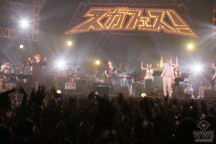 【ライブレポート】スガシカオ率いるkōkuaが『スガフェス!』で圧巻の演奏!「あと1歩だけ前に進もうっていうメッセージに、自分自身勇気づけられてきました」
