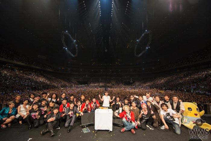 【ライブレポート】スガシカオがデビュー20周年記念イベント『スガフェス』を締めくくる!「俺からファンとスタッフたちへの恩返しの第一歩」