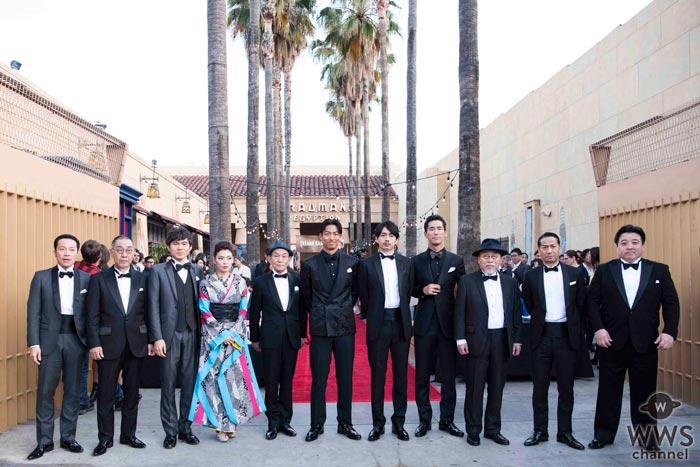 青柳翔、AKIRA、小林直己ら出演の映画『たたら侍』のハリウッドプレミア開催!「新しい僕らのエンターテインメントの道が開けた」