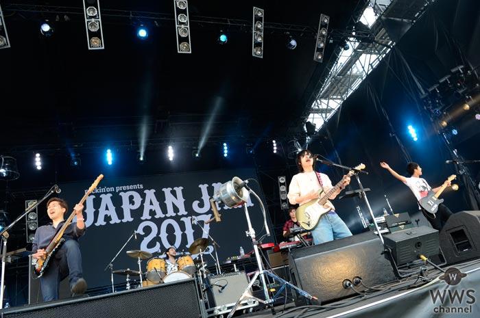 【ライブレポート】NICO Touches the WallsがJAPAN JAM 2017で生み出す最高のGW!「楽しんだもん勝ちだぜ!」