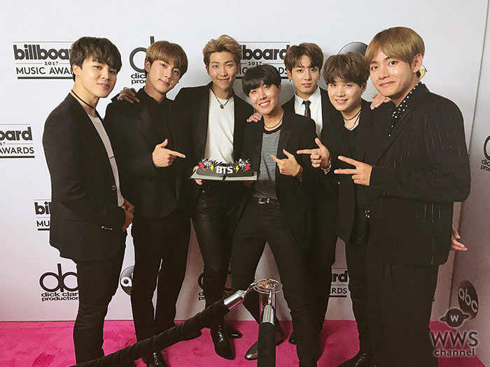 防弾少年団、ジャスティン・ビーバーを抜いて韓国グループ初米Billboard Music Awardsソーシャル・アーティスト受賞!