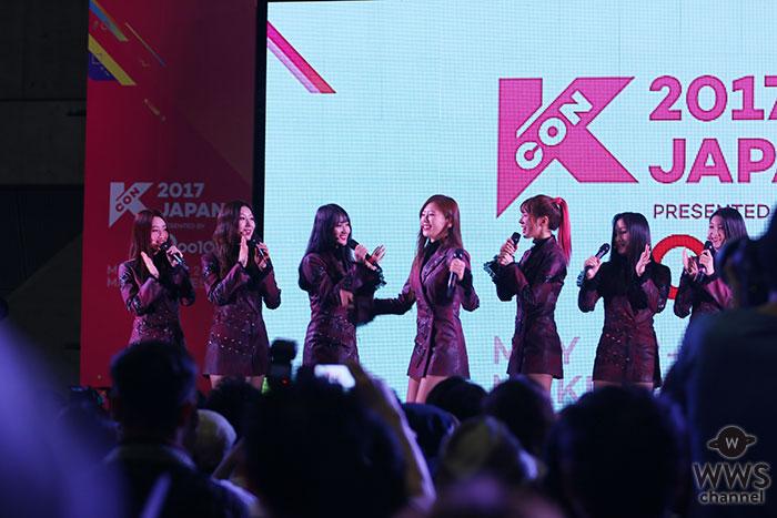 【写真特集】7人組ガールズグループ・DREAMCATCHERが紫のワンピース衣装で可愛いすぎる歌とダンスでライブパフォーマンス!