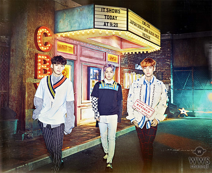 EXO-CBX 女性ファッション誌「Popteen」で表紙!海外男性グループ単独表紙は初!