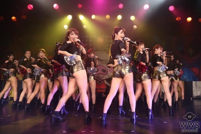 セクシー過ぎるユニット・恵比寿★マスカッツが迫力のパフォーマンス!新旧メンバーが一つとなって大合唱!