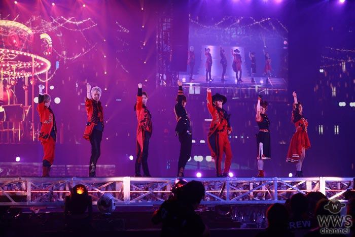 AAA初のドーム公演が『LIVE DAM STADIUM』で配信!熱気に包まれた7人最後のステージの臨場感を『LIVEカラオケ』で再現!