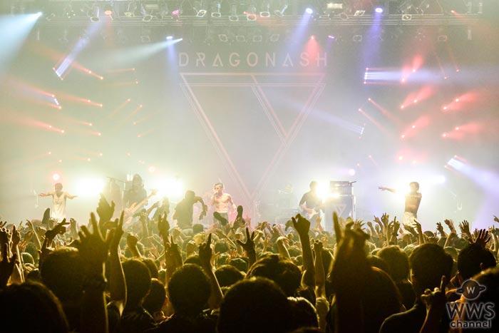 【ライブレポート】ライヴモンスター、Dragon Ashが威風堂々と全国ツアーをスタート!