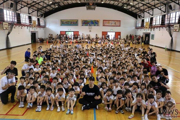 EXILE 橘ケンチが台湾の日本人学校でダンス教室を開催!「これをキッカケにダンスに興味をもってもらえたら嬉しいです」