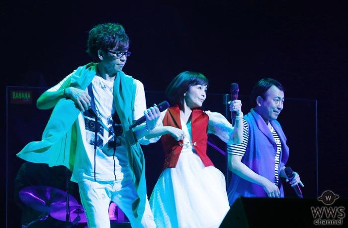 山寺宏一、日髙のり子、関俊彦のユニット「バナナフリッターズ」が22年ぶりの復活コンサートを開催!