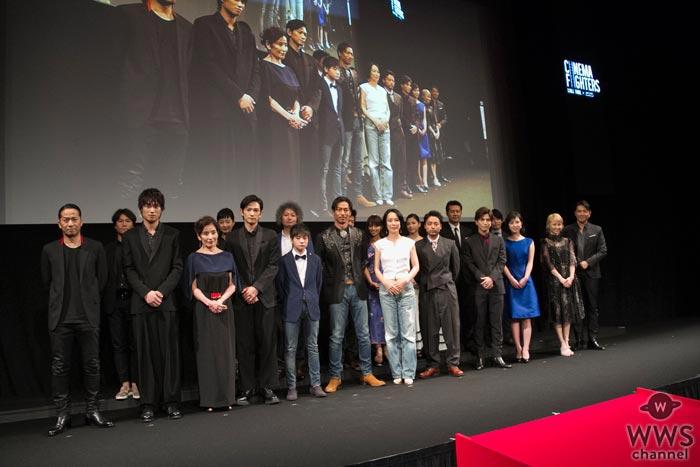三代目JSB 岩田剛典が『シネマファイターズ 完成披露発表会』で撮影裏話を告白!「監督を恨んでましたね(笑)」
