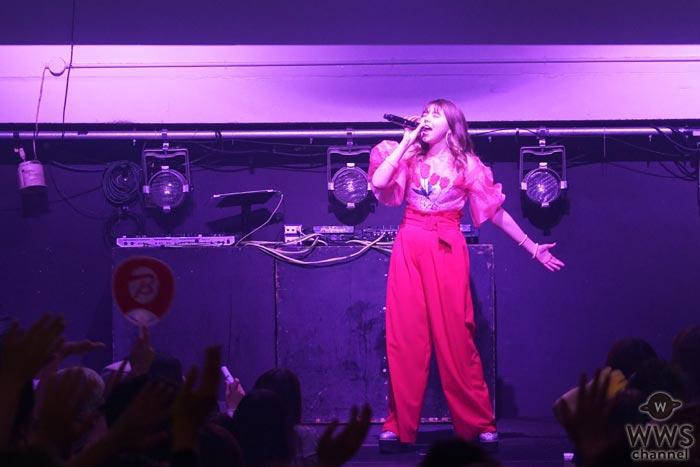 メロディー・チューバックが『TSC Vol.3』に登場!伸びやかな歌声を会場いっぱいに響き渡らせる!
