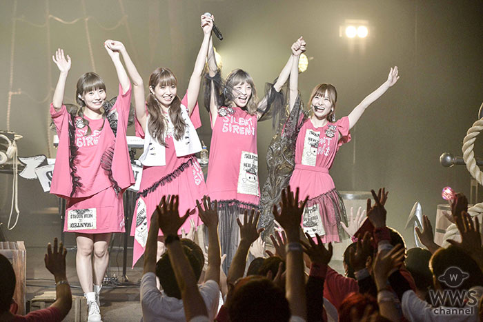 SILENT SIRENが全国ツアーを戸田市文化会館よりスタート!