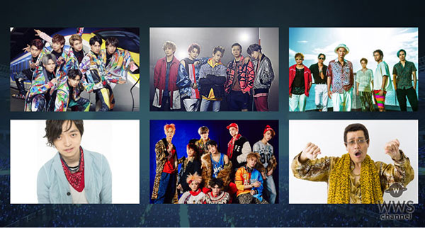 a-nation 2017出演アーティスト第1弾発表!! ヘッドライナーにAAA、浜崎あゆみが決定!EXILE THE SECOND、EXO、ピコ太郎、GENERATIONS from EXILE TRIBE、iKONら豪華18組出演者発表!!