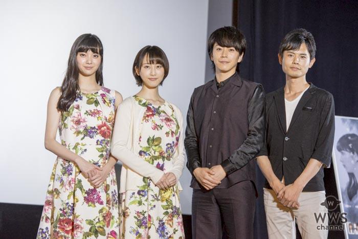 映画『めがみさま』初日舞台挨拶に松井玲奈、新川優愛が出席!