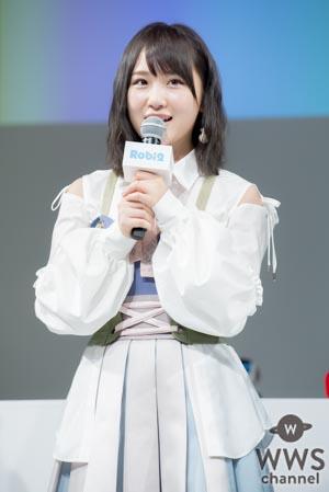 AKB48 向井地美音がロボットから突然の告白!「推しメンですね私!」