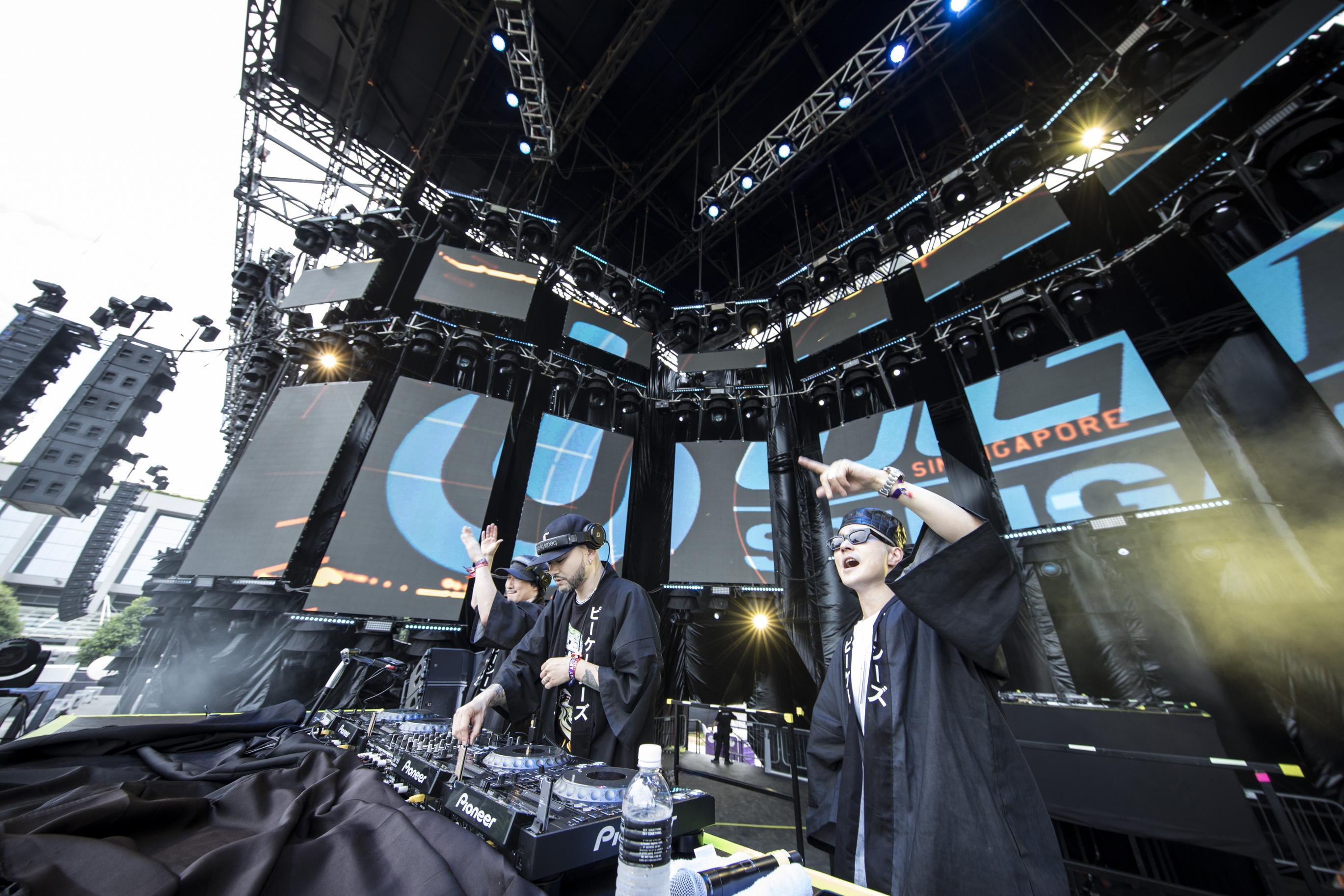 PKCZ®が初となる海外フェス 「Ultra Singapore 2017」に出演! 昨年 12 月以来となる 3 人揃い踏みの DJ セットで 「完全復活」を宣言。