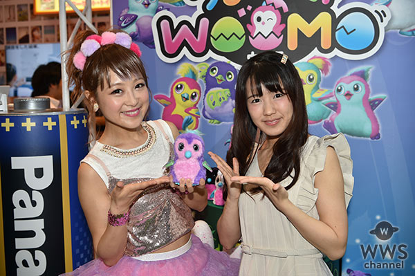 【動画】鈴木奈々に夏生のん(さくらシンデレラ)がインタビュー!ペットトイ「うまれて!ウーモ」をアピール!