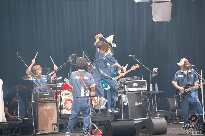 【ライブレポート】ユニコーンがド定番の『大迷惑』で横浜アリーナを絶叫の渦に!「J-WAVE LIVE SUMMER JAM 2017 supported by antenna*」2日目に登場!