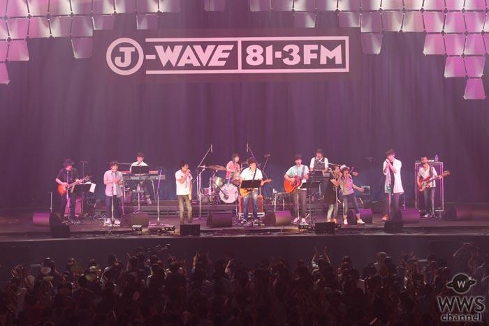 【ライブレポート】福耳がヒットナンバーとともに発売間近の新曲をダブルでお披露目!「J-WAVE LIVE SUMMER JAM 2017 supported by antenna*」2日目に登場!