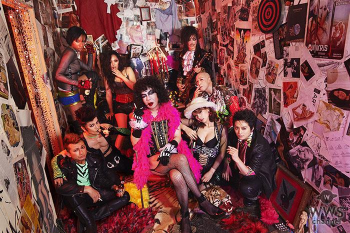 アヴちゃんが初のミュージカル出演を果たす伝説のロックミュージカル 『ロッキー・ホラー・ショー』に、 女王蜂メンバー全員出演決定!