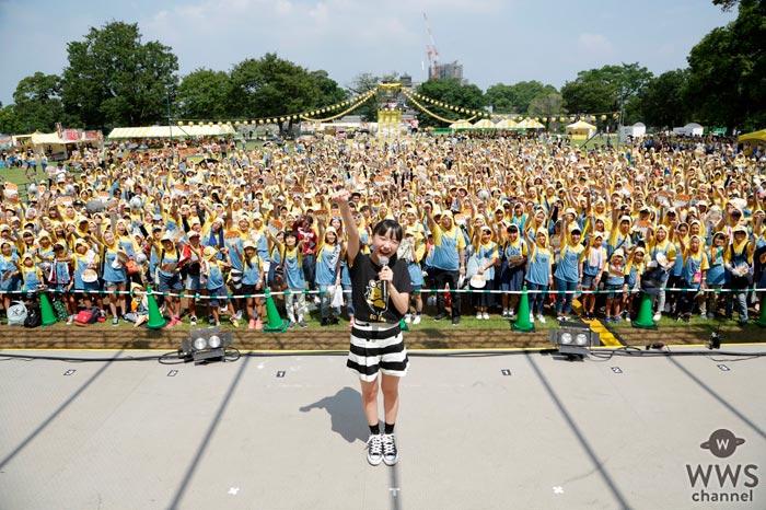 芦田愛菜からのエールに会場大興奮!ミニオン提灯で熊本城公園がミニオン一色に!『MINIONS RUN at 熊本城公園』開催!