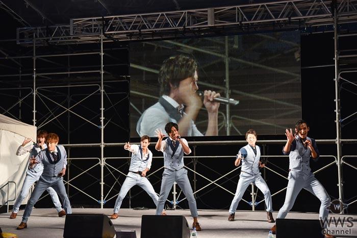 SOLIDEMOがCBCラジオ夏まつり2017に出演!佐脇慧一の怪我というハプニングを乗り越えた絆のステージで会場を魅了!