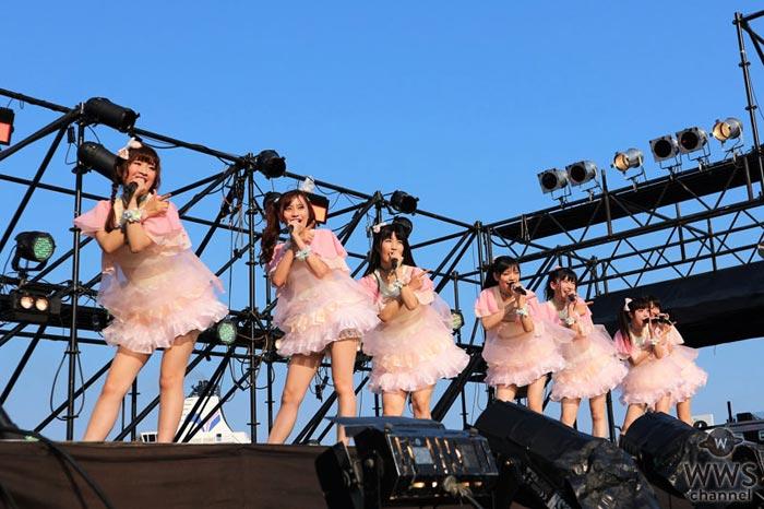 Ange☆Reveがアイドル横丁に夏の天使をイメージした新衣装で登場!夏感たっぷりの新曲『絶対リメンバー』を初披露!