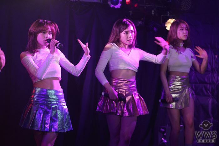 【写真特集】CHERRSEEがキラキラした華やかなヘソ出し衣装で 『GirlsJAM vol.2』に登場!ノリノリのダンスで盛り上げる!