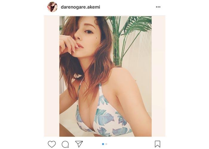 ダレノガレ明美がスタイル抜群のセクシー水着姿を披露!「理想の女性!」と絶賛の声!