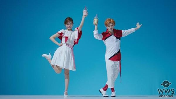 AAA 宇野実彩子、末吉秀太が息の合ったダンスを披露したTVCMがオンエア!AAA × Krushers『真夏のトリプルキャンペーン』開催!