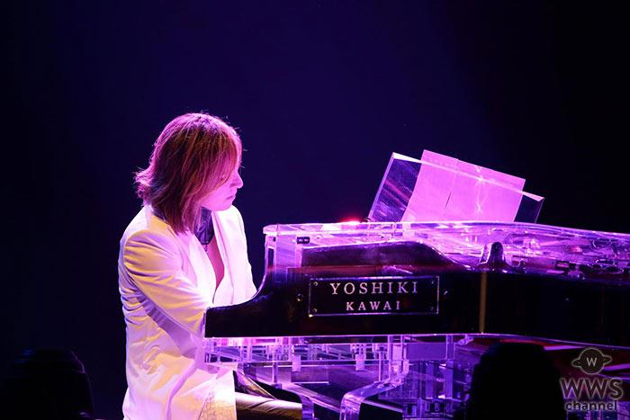【ライブレポート】X JAPAN が2017年版新生『Tears』を披露! アコースティックピアノのYOSHIKIと対照的にPATA SUGIZOがヘビーなギターアレンジで1万人のファンを魅了!
