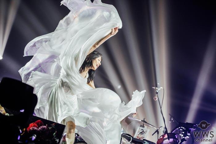 Cocco20周年記念武道館ライブ2days、愛と歓喜に包まれる中、終演!