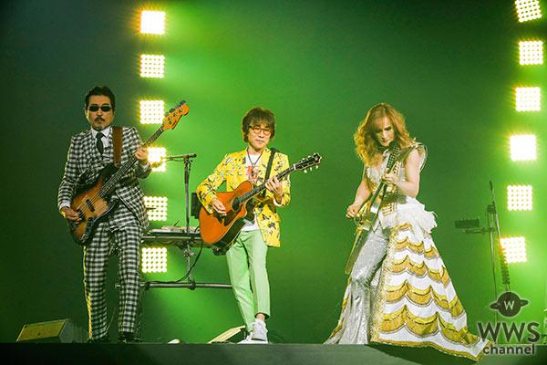 THE ALFEEが横浜アリーナにて31回目の夏のイベントを慣行! 通算ライブ本数は2639本と日本のバンドで最多記録更新!