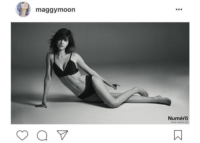 マギーが美しすぎる水着姿を披露!「セクシーの極みですね」と絶賛の声!