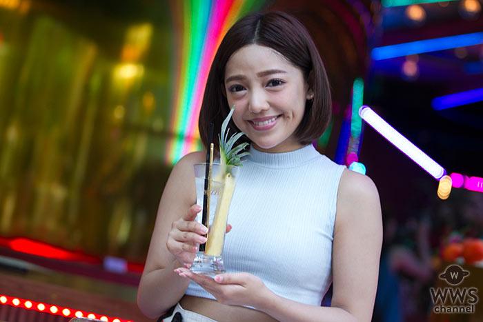 【写真特集】石川ナサがラグジュアリーなニュースポット『MEZZO』(メゾ) をレポート!パイナップルカクテルをカウンター席で堪能!