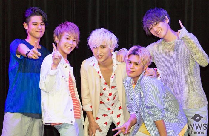 5人組ボーカルグループUNIONE(ユニオネ)が4thシングル『SEXY SEXY SEXY』の発売記念リリースイベントを開催!