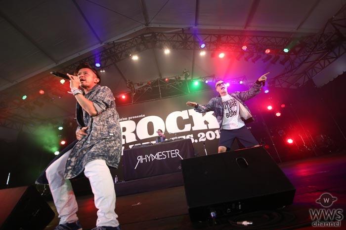 【ライブレポート】「ROCK IN JAPAN FESTIVAL 2017」二日目のBUZZ STAGEにRHYMESTERが新曲を抱えて2年振り堂々の復活!