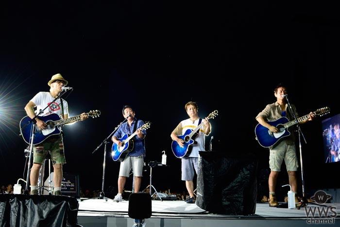 日本一の夏バンドTUBEが31年連続・単独野外ライブを開催! 雷で一時ライブ中断するというアクシデントを乗り越え、記憶に残る29回目の横浜スタジアムライブ完走!