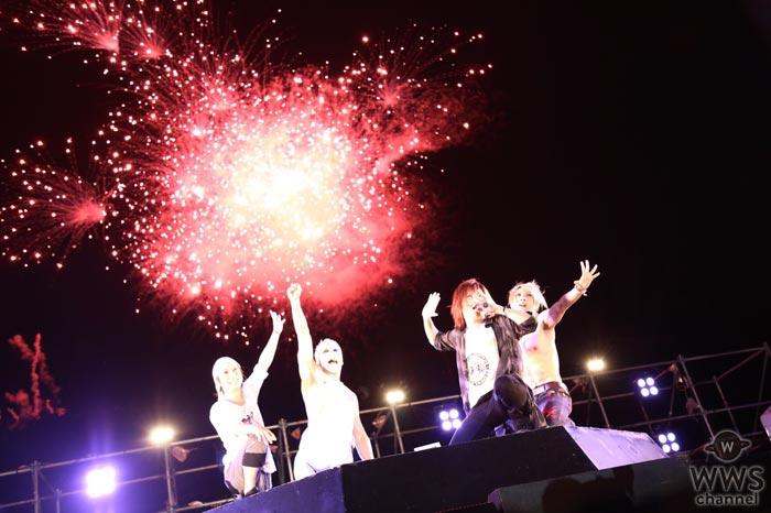 ゴールデンボンバーが『神宮外苑花火大会』ライブステージに登場!花火と金爆の夢の共演!