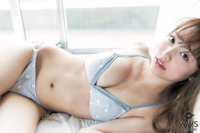 現役音大生・みうらうみ がセクシーな水着姿を初披露!初の撮影も自然体で魅せる!
