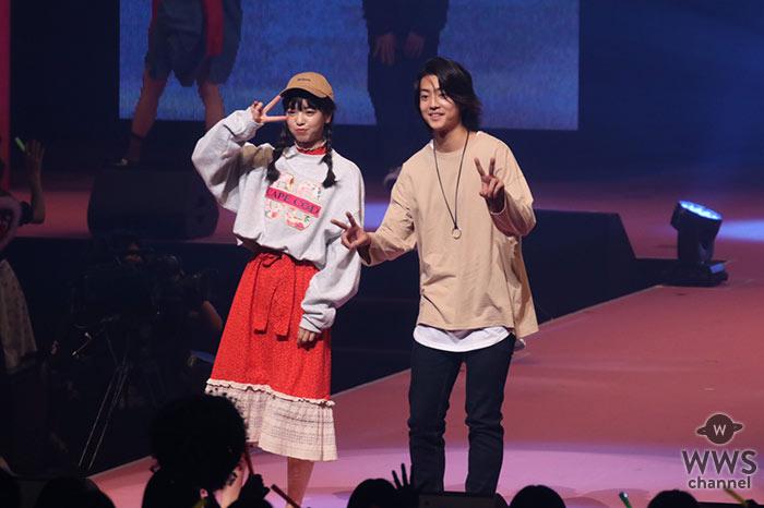 横田真悠と健太郎が「Seventeen夏の学園祭2017」で2ショットで登場!江野沢愛美と飯豊まりえは秋ファッションで魅せる!