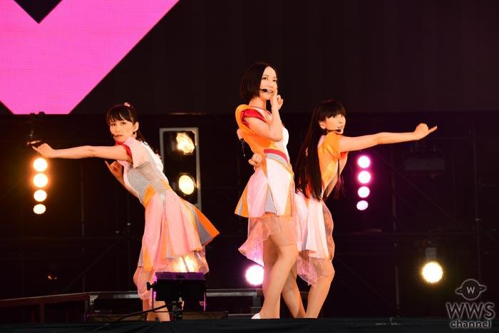 【ライブレポート】PerfumeがROCK IN JAPAN FESTIVAL 2017で新曲「If you wanna」初披露! 近未来感漂わせるワンピースで圧巻のダンスパフォーマンス!