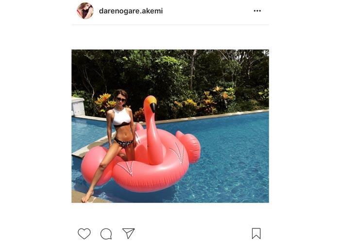 ダレノガレ明美がスタイル抜群のセクシー水着姿を披露!「神Body 憧れるわー」と賞賛の声!
